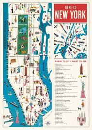 Paper Town Map Cavallini U0026 Co New York City Map Decorative Paper Sheet U2013 Pomp