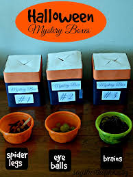 Kids Halloween Party Ideas Halloween Party For Kids Mystery Box Halloween Parties And Box