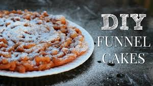 how to make funnel cakes youtube