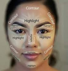before you start with the contour apply your base primer foundation cc cream concealer wver you how