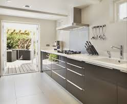 kitchen fresh black lacquer kitchen cabinets modern rooms