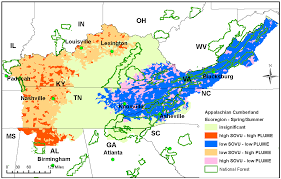 forests free full text an exploratory spatial analysis of