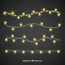 christmas lights net style christmas lights with elegant style vector free download