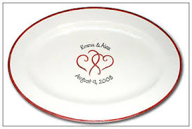 wedding signing plate hearts wedding guest signature platter serendipity crafts