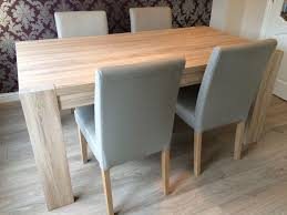 Light Oak Dining Table And Chairs Likeable 6 8 Seater Dining Table Next Corsica Light Oak Effect In