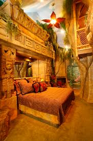 Room Best Themed Hotel Rooms by Mayan Rain Forest Hotel Room So Cool Pinterest Kids Rooms