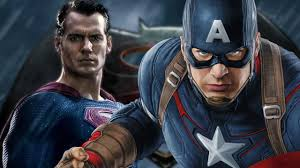 captain america civil war batman superman style