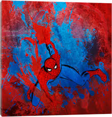 canvas prints spider man u2014 icanvas
