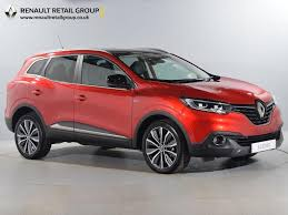 new renault kadjar nearly new renault for sale kadjar 1 6 dci signature 4wd red