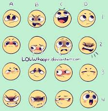Expressions Meme - expression meme by lolwhoopie on deviantart