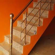 Grills Stairs Design Steel Stair Railing At Rs 150 Square Feet S Ms And Ss Railing