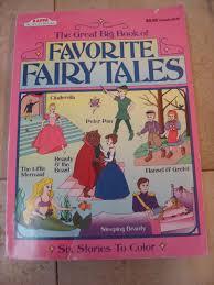 big book favorite fairy tales stories color