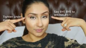hair to hide forehead wrinkles get rid of under eye wrinkles facial exercise raji osahn youtube
