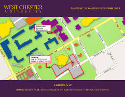 University Of Pennsylvania Campus Map by Public Shows West Chester University