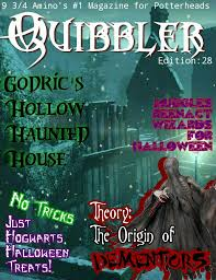 The Origins Of Halloween by The Quibbler Halloween Special Harry Potter Amino