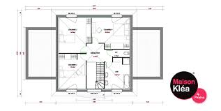 plan maison 4 chambres etage plan maison 4 chambres etage ideo energie