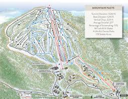 Magic Mountain Map Trails Lifts U0026 Grooming Burke Mountain Resort