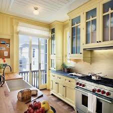 yellow kitchen backsplash design ideas