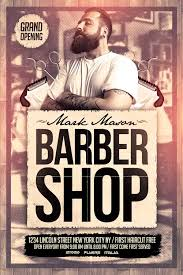 free barber shop flyer template http xtremeflyers free