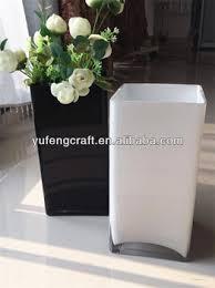 Clear Glass Square Vase Wholesale White Square Vase Black Glass Mexican Flower Vase Buy