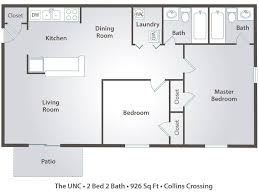 dining room floor plans apartment floor plans pricing collins crossing carrboro nc