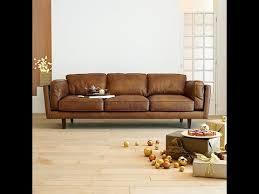 canaper en cuir choisir un canapé cuir design pour le salon