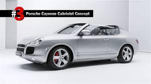 Porsche Cayenne Coupe - this porsche cayenne cabriolet concept has never been seen before