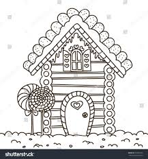 gingerbread coloring page coloring pictures of gingerbread house house interior