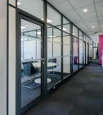 cloison aluminium bureau cloison aluminium affordable tiaso fabricant leader europen pour