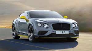 bentley yellow 2017 bentley continental gt speed black edition review top speed