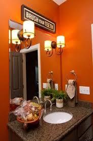 orange bathroom ideas orange bathroom decor orange bathrooms house and