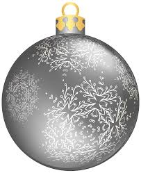 silver christmas ball png clipart best web clipart