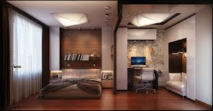 bedroom mens bedroom with white and wooden combination in modern