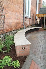 Curved Garden Wall by Memorial Garden Info About The Columbaria Presbyterian Church