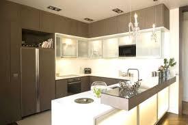 cuisine au milieu de la cuisine en avec bar inspirations et plan cuisine enavec bar milieu