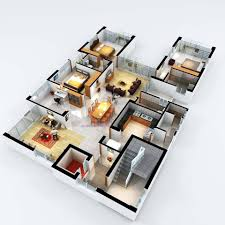 3 bedroom suite 3d floor plans pinterest bedrooms floor