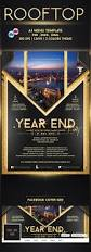 rooftop party flyer facebook cover template by emty graphic on