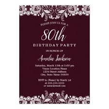 best 25 diy 80th birthday invitations ideas on pinterest diy