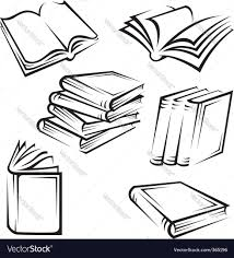 books royalty free vector image vectorstock