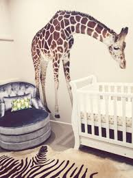 stickers girafe chambre bébé chambre unisexe pour bébé chambre fillette ou chambre garçonnet