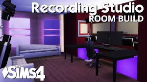 The Sims 4 Room Build Recording Studio Youtube Create Your Own Home Recording Studio