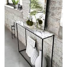 Marble Top Entryway Table Console Tables Narrow 20 Cm Depth Console Table For Entryway 20