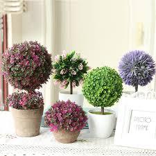 artificial flowers bonsai wedding decoration simulation of small