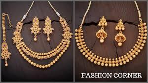 fashion necklace gold images Latest gold antique necklace designs 2017 2018 jpg