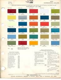 paint chips 1973 gmc chevy truck sprint