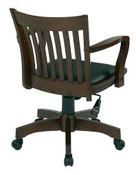 office star products deluxe banker chair w vinyl 101 fw