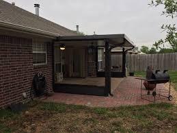porch cover pergola u0026 shade arbor in college station buck the