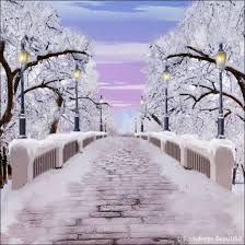 backdrops beautiful walk in the park winter backdrop 2 backdrops beautiful
