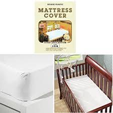 Vinyl Crib Mattress Crib Size Mattress Cover Light Vinyl Toddler Bed