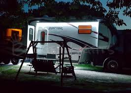 Awning For Travel Trailer Rv Awning Lights Single Color Leds For Rvs Campers And Trailers